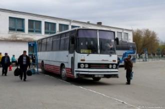 Ikarus 256 P406UDM г. Рудный, 27.04.16г