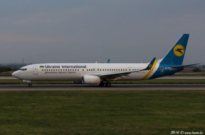 UR-PSI Boeing 737, 07.08.16
