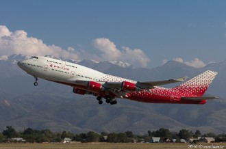 EI-XLE Rossiya Airlines Boeing 747, 24.08.16