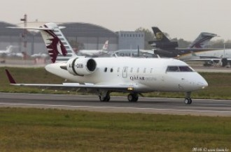 A7-CEB Qatar Executive CL-600, 13.10.16