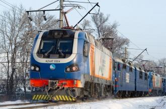 KZ4AT-0004 в сплотке, г. Алматы, 14.01.17г