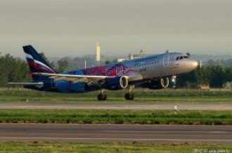 VP-BWE Aeroflot Airbus A320, 14.05.17