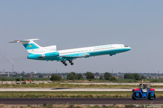 UP-T5401 Kazakhstan Air Force Tu-154M, 04.07.17