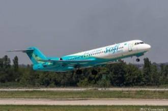 UP-F1009 Safi Airways Fokker F100, 04.07.17
