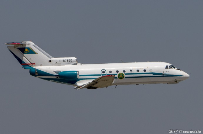 UP-87850 Yak-40, 04.07.17