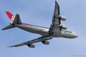 LX-VCK Cargolux Airlines Boeing 747, 08.12.16