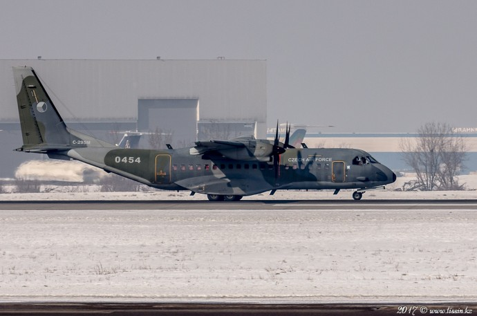 0454 Czech Air Force CASA C-295M, 09.02.17