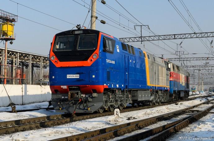 ТЭП33А-0008 и ТЭ33А-0244, 10.02.18г