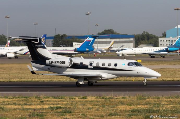 UP-EM009 Embraer Phenom 300, 08.08.18