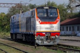 ТЭП33А-0016 на станции Алматы-2, 06.09.18г