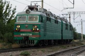 ВЛ80С-2708 на перегоне Аксенгер— Бурундай, 26.07.19г