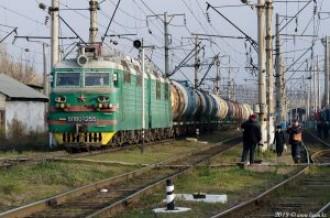 ВЛ80С-1255 на станции Алматы-1, 15.11.19г