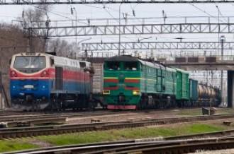 2ТЭ10М-3458 на станции Алматы-1, 21.03.2020г