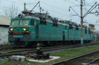 ВЛ80С-2375 А / ВЛ80С-2430 на станции Алматы-1, 21.03.2020г