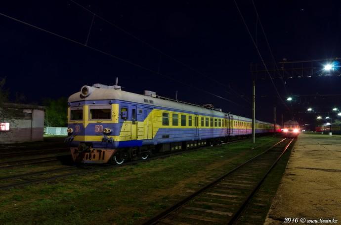 Эр22-50 на станции Степногорск, 24.04.16г
