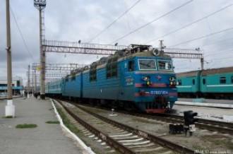 ВЛ80С-1164 на станции Костанай, 28.04.16г