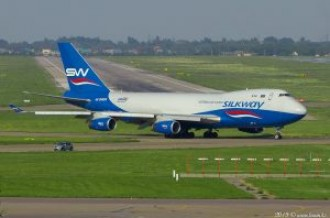 4K-SW888 Silk Way West Airlines Boeing 747, 04.07.19