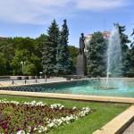 Памятник Чокану Валиханову, 17.07.12г.
