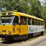 Tatra T3DC №1010, 17.07.12 г.