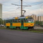 Tatra T3DC №1025, 16.05.13г.