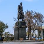 Памятник революционеру Алиби Джангильдину, 02.11.13г.