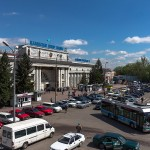 Ж.д. вокзал Алматы-2, 18.04.13г.