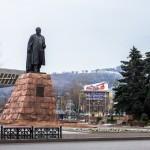 Памятник Абаю, 13.12.13г.