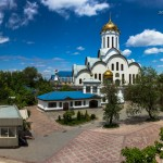 Храм Христа Спасителя в Алматы, 22.05.14г.