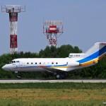 UP-Y4013 Yak-40, 27.07.14г.