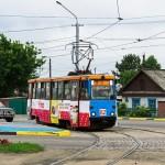 Усть-Каменогорский Трамвай, КТМ 71-605 № 82, 03.07.14г.