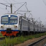 Электропоезд ЭД9М-0260, 01.09.14г.