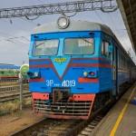Электропоезд ЭР9М-4019, 31.08.14г.