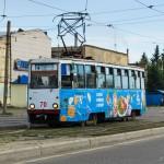 Усть-Каменогорский Трамвай, КТМ 71-605 № 70, 03.07.14г.