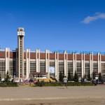 Ж.д.вокзал Кокшетау, 02.09.14г.
