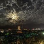 Июльской ночью в Алма-Ате, 2015г.