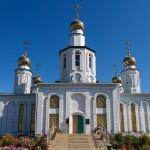 Храм «Всех Святых», п. Сарыколь, 03.09.14г.