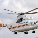 Ми-26Т UP-MI602 (Перевозка, видео), 15.03.16г.