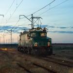 Промышленный электровоз EL21-049, 23.04.16г.
