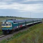 Дизельпоезд DR1B-3717, 07.08.16г.