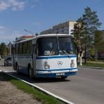 ЛАЗ-695 P718AU г. Рудный, 27.04.16г.