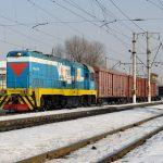 CKD6E-2056 на станции Алматы-1, 10.02.18г.
