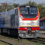 ТЭП33А-0016 на станции Алматы-2, 06.09.18г.