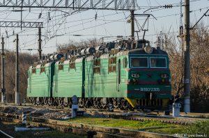 ВЛ80С-2305 / ВЛ80С-2303 на станции Алматы-1, 05.11.18г.