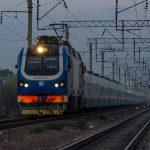 KZ4AT-0003 с поездом Talgo № 707 Алматы — Нур-Султан, 14.04.19г.