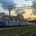 ВЛ80С-1689 с поездом №025Алматы — Шымкент, 22.07.19г.
