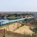 ТЭП33А-0017 с поездом №021 Семей — Кызылорда, 24.09.19г.