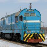 CKD6E-2013 на перегоне Капшагай — Илийская, 11.01.20г.