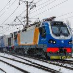 KZ4AT-0017 в сплотке на станции Алматы-1, 16.01.20г.