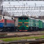 2ТЭ10М-3458 на станции Алматы-1, 21.03.2020г.