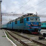 ВЛ80С-1164 на станции Костанай, 28.04.16г.